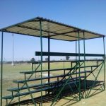 5-Tier-with-Galavanised-sheet-roof- grandstand seating hire grandstand seating grandstands for sale grandstand seating for sale mobile grandstand portable