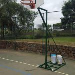 Basketball-Portable-fanbb-spring-loaded-rn-goalposts goal posts for sale goals for sale goal post suppliers