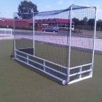 Hockey-Astro-metal goal posts regulation soccer goal professional soccer goal full size soccer goal large soccer goal rugby posts